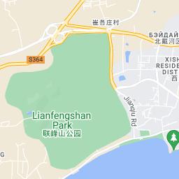 три вида отели бэйдайхэ на карте кто