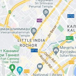 Booking.com: Отели вблизи: Железнодорожный вокзал Танджонг-Пагар ...